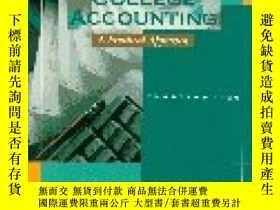 二手書博民逛書店College罕見Accounting: A Practical Approach Chapters 1-26-大