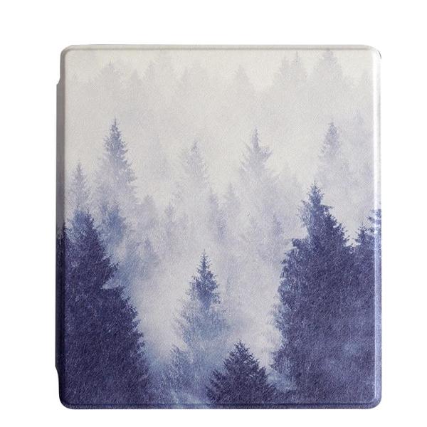 迷霧森林亞馬遜kindle oasis2保護套7寸休眠彩繪皮套2代個性原創