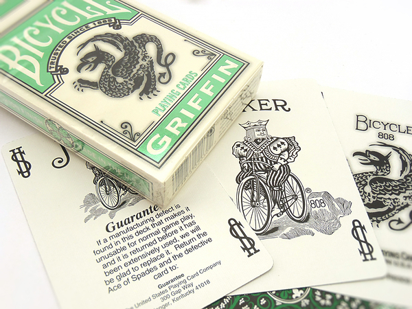 【USPCC 撲克】BICYCLE 808 Griffin Deck  怪獸 撲克牌