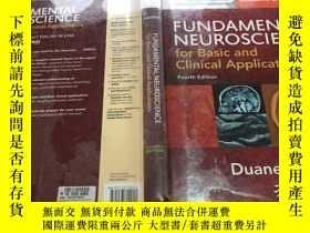 二手書博民逛書店Fundamental罕見Neuroscience for Basic and Clinical Applicat