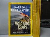 【書寶二手書T9/雜誌期刊_XAO】國家地理雜誌_2008/1~9月間_共8本合售_Volcano Gods等_英文版