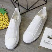 帆布鞋 低幫懶人鞋 一腳蹬休閒鞋【非凡上品】nx2650