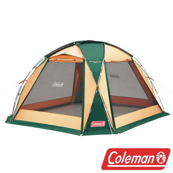 Coleman 圓頂網屋/380 綠 帳篷 客廳帳 天幕帳 露營 CM27290