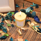 【夏日居家派對推薦】自然香氣許願蠟燭-生活工場
