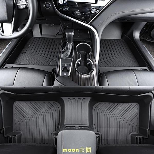 專用於豐田凱美瑞C-HR卡羅拉致炫致享榮放威馳全包圍TPE汽車腳墊 快速出貨