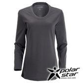 PolarStar 女 圓領排汗 保暖衣   發熱衣 『灰』P15216