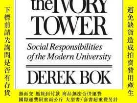 二手書博民逛書店Beyond罕見The Ivory TowerY256260 Derek Bok Harvard Univer