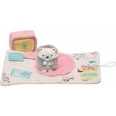 【角落生物 娃娃布書】角落生物 娃娃 布書 繪本 玩具 棉質 北極熊的家 SS號專用 該該貝比