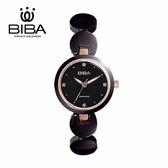 法國 BIBA 碧寶錶 純粹晶瓷系列 藍寶石玻璃 石英錶 B31BC049B 黑色 - 28mm