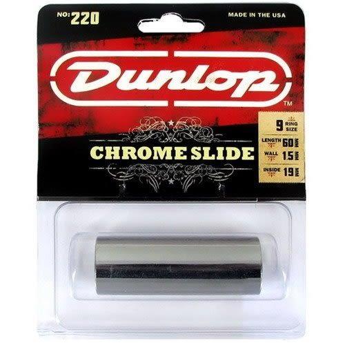 【金聲樂器音響】Dunlop 220 Guitar Slide 金屬鍍鉻滑管 滑音藍調/鄉村音樂/搖滾樂必備