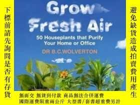 二手書博民逛書店How罕見To Grow Fresh AirY255562 B.c. Wolverton W&n 出