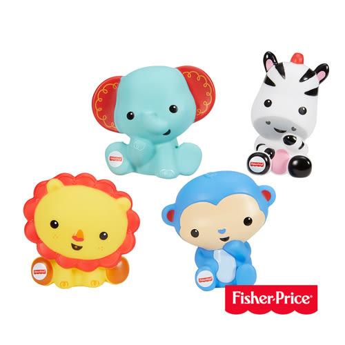 費雪Fisher-Price 可愛動物洗澡玩具組 美泰兒正貨 麗翔親子館