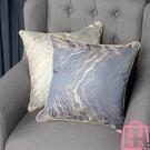 沙發靠墊抱枕套歐式抱枕樣板房別墅客廳靠枕套【匯美優品】