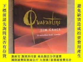 二手書博民逛書店Quarantine【Whitbread罕見Novel o th