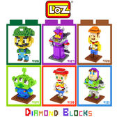 摩比小兔~ LOZ 鑽石積木 9126 - 9131 卡通系列 腦力激盪 益智玩具 趣味