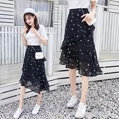 155紗裙半身裙春裝搭配145cm150cm矮個子嬌小森系小清新仙女裙夏 雙十二全館免運
