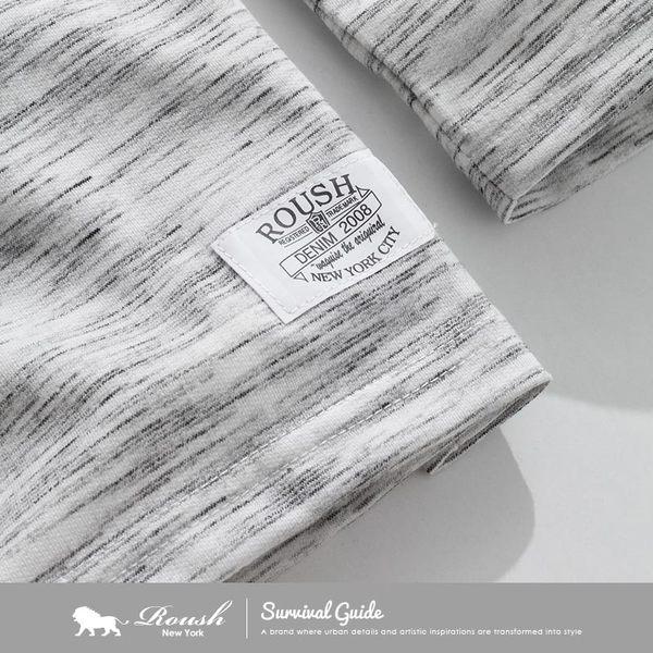 【Roush】 高磅數雲霧柔棉長TEE -【710525】