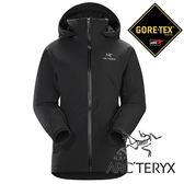 【Arc'teryx 始祖鳥】女 單件式GORE-TEX化纖保暖外套(內裡:CORELOFT)『黑』L06927