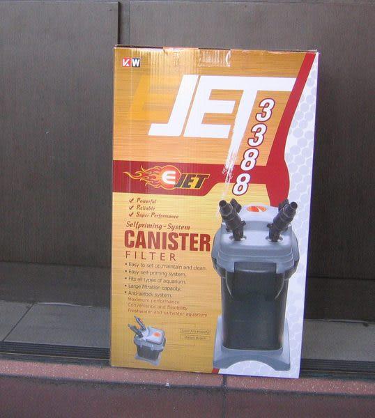 【西高地水族坊】HEXA代理 JET 新型3388海豚系列外置圓桶過濾器(2000L)