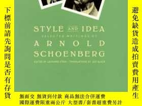 二手書博民逛書店Style罕見And IdeaY255562 Arnold Schoenberg University Of