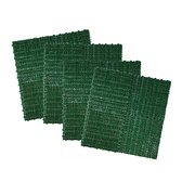 翠綠人造草30x30cm4入