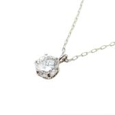 JEWELRY D0.318ct 單顆鑽石項鍊 PT900 PT850 【二手名牌 BRAND OFF】