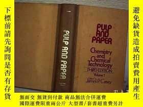 二手書博民逛書店PULP罕見AND PAPER 1.Y203004