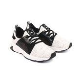 【南紡購物中心】【PUHU彪琥】彈性布輕量動能運動鞋-男款白黑