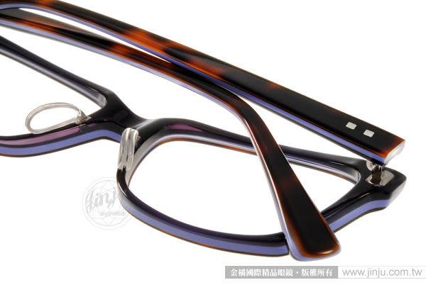【金橘眼鏡】Prodesign denmark眼鏡# PRO1710-1 C5034 丹麥設計師極簡工藝-琥珀紫(免運)