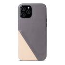 Alto iPhone 12 Pro Max 真皮手機殼背蓋 6.7吋 Metro 360 - 礫石灰/本色【可加購客製雷雕】皮革保護套