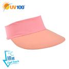 UV100 防曬 抗UV-涼感輕便空心帽-吸濕速乾
