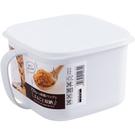 日本進口食物收納盒塑料保鮮盒五穀雜糧罐子...