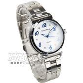 Daniel Wang 流行美學 簡約鑲鑽數字時刻腕錶 女錶 石英錶 防水手錶 學生錶 D3168白藍