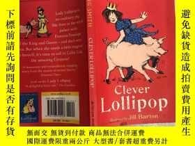 二手書博民逛書店clever罕見lollipop 聰明的棒棒糖Y200392
