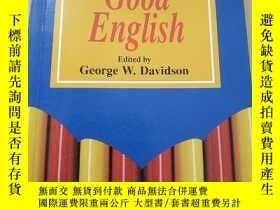 二手書博民逛書店TIMES罕見CHAMBERS GOOD ENGLISH【有印章