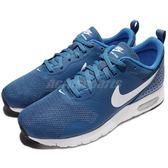 【六折特賣】Nike 休閒慢跑鞋 Air Max Tavas GS 藍 白 氣墊 女鞋 大童鞋 運動鞋【PUMP306】 814443-405