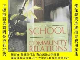 二手書博民逛書店The罕見School And Community Relati