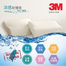 3M涼感記憶枕2入 日美進口原料 台灣製 有效降溫