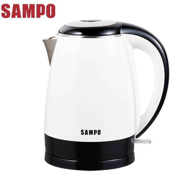 ◤A級福利品‧數量有限◢ SAMPO聲寶 1.7L不鏽鋼快煮壺 KP-PA17D