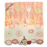 日本嚕嚕米小不點毛巾方巾刺繡橘花朵636277通販屋