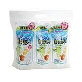 chuchu 啾啾 蔬果奶瓶清潔劑替換包-3包