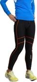 ASICS 亞瑟士 體軸調整緊身褲(黑*橘S號) 慢跑壓縮褲 女生可穿