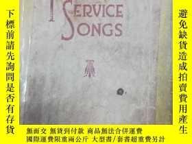 二手書博民逛書店triumphant罕見service songsY1425 h