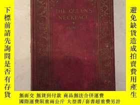二手書博民逛書店the罕見queen s necklace 女王的項鍊Y2708