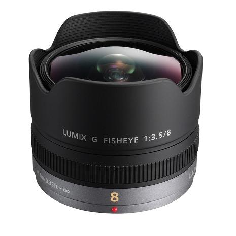 送拭鏡筆+強力吹球+擦拭布 Panasonic LUMIX G FISHEYE 8mm F3.5 魚眼鏡頭 台松公司貨