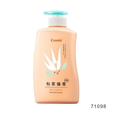 康貝Combi 和草極潤PLUS 嬰兒洗髮乳 500ml