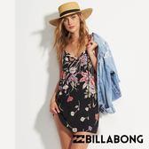 BILLABONG NIGHT IN 女短洋裝 印花黑 JD17QBNIBFR【GO WILD】