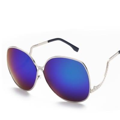 太陽眼鏡-偏光個性方圓彎曲鏡架男女墨鏡9色73en35[巴黎精品]