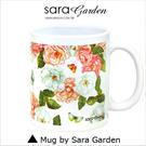 客製 手作 彩繪 馬克杯 Mug 手繪 水彩 渲染 碎花 蝴蝶 咖啡杯 陶瓷杯 杯子 杯具 牛奶杯 茶杯