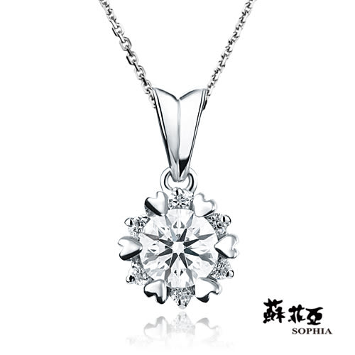 蘇菲亞SOPHIA - 費洛拉0.30克拉FVVS1鑽石項鍊